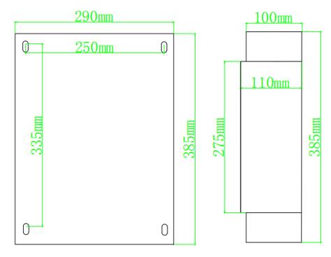 多用户电表外观尺寸图