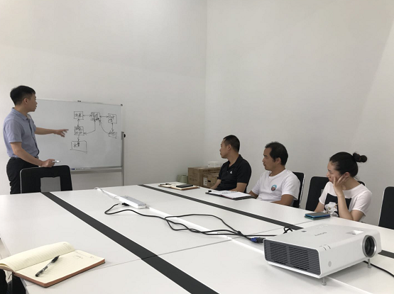 森维电子新产品讲解会议1