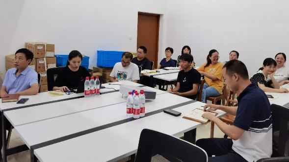 智华传奇朱智峰老师到森维电子授课