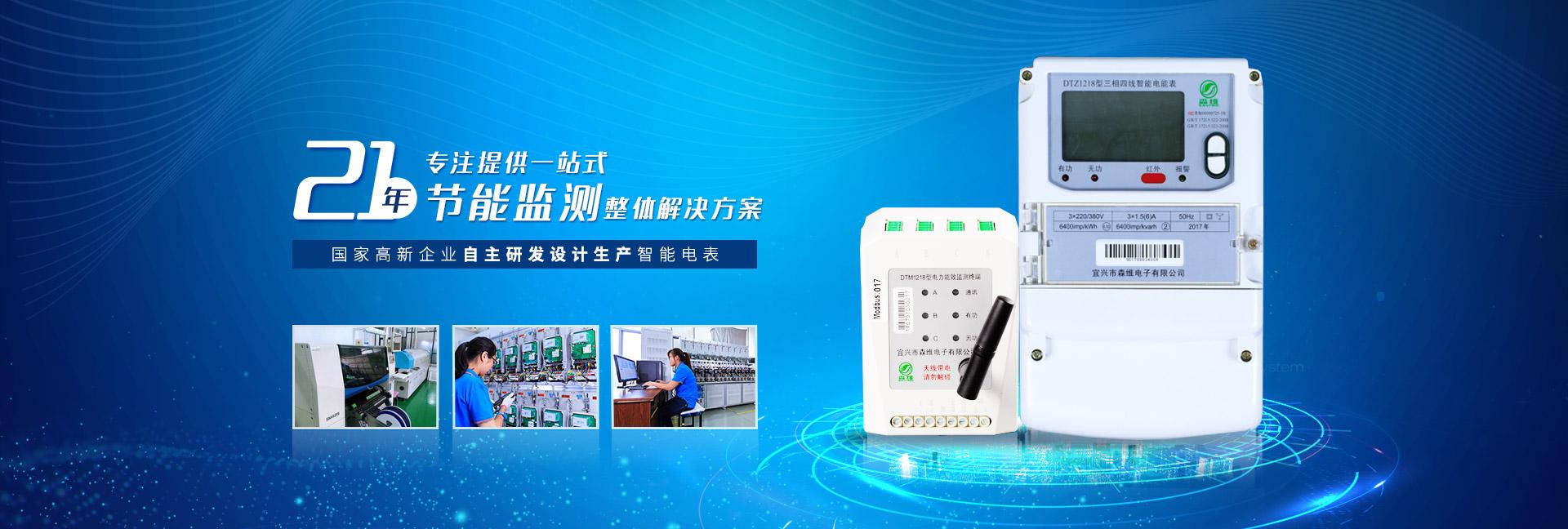 森维电子-21年专注提供一站式节能监测整体解决方案
