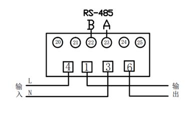 2P导轨表接线图
