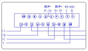 大电流直通式接线图